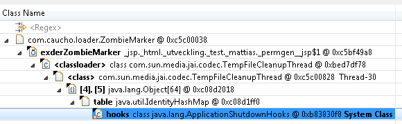 Classloader leaks II – Find and work around unwanted